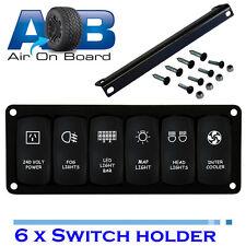 Switch Panel 6200 Universal 6 x switch holder Rocker ARB TJM Landcruiser Pajero