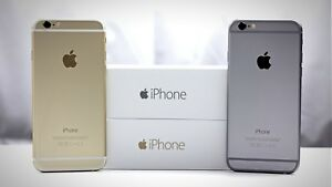 *NEW* Apple iPhone 6 - 32GB - Gold/Gray (Boost Mobile) A1586 (CDMA + GSM)