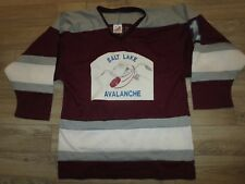 Salt Lake Avalanche Avs Hockey Jersey M Medium mens