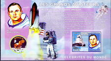 Congo Imperf MNH SS, Space, Neil Armstrong, Apollo 11, Flag, Astronaut
