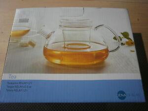 Teekanne  Relax 1,20 ltr. Jenaer Glas  118717  Schott Zwiesel Neu OVP