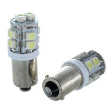 2X T11 BA9S T4W 10-SMD Xenon White Hi-Power LED Side Light Lamp Bulb Car 12 F3E3