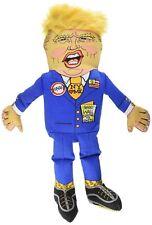 """Fuzzu Presidential Parody Small Dog Toy - Donald Trump 12"""""""