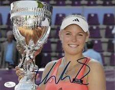 Autographed Caroline Wozniacki Tennis 8x10 Photo # 2 JSA Authentication Original