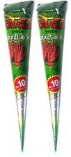 2x Neha Henna-Paste Kegel, 100% natürlich (Rotbraun) ohne PPD, ohne Chemie - 60g
