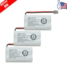 3pcs Cordless Home Phone Rechargeable Battery For Uniden BT-1007 BT-1015 BT904