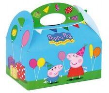 15 Peppa Pig Scatole Per Alimenti Picnic Carry Cestino Del Pranzo Bambini
