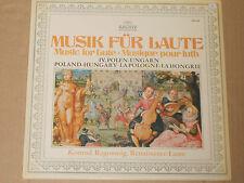 Konrad RAGOSSNIG-Musique pour Luth-Pologne-Hongrie LP