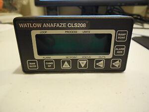 WATLOW ANAFAZE CLS208 8 LOOP TEMPERATURE CONTROLLER