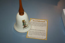 Hummel Collectible Porcelain Bell Shepherd'S Boy With M.J.Hummel Coa New In Box