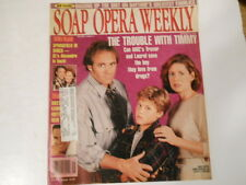 Susan Diol, Ken Hanes, As The World Turns - Soap Opera Weekly Magazine 1993