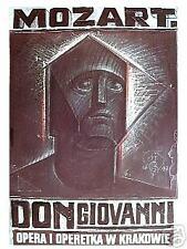 Polish poster by Franciszek Starowieyski