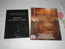 THE BEST OF OMNI SCIENCE FICTION NO. 3 *SIGNED*   -FM-