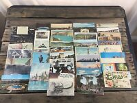 Vintage POSTCARD LOT 42 Travel Utah Canada