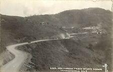 c1940 Real Photo PC Carr. Mex-Laredo Tramo Zacate Grande Tamazunchale S.L.P. MF8