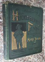 Adventures of Huckleberry Finn, by Mark Twain 1888 First Edition ~Samuel Clemens