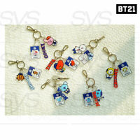 BTS BT21 Official Authentic Goods Acrylic Key Ring School Ver By Kumhong Fancy