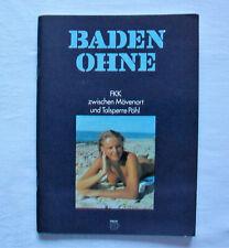 DDR Reiseführer Baden ohne FKK zwischen Mövenort und Talsperre Pöhl 1982 Erotik