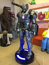 Life Size Marvel Ironman War Machine Full Size Prop Statue