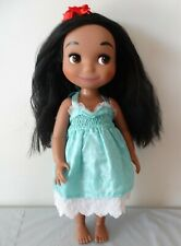 """Disney Animators' Collection  IT'S A SMALL WORLD SINGING HAWAII 16"""" Doll"""