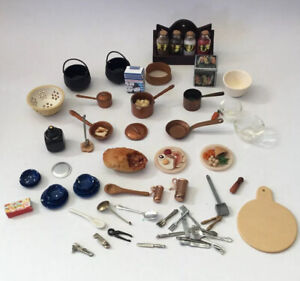 Dolls House Food And Cookware Accessories