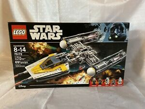 LEGO Star Wars Y-Wing Starfighter 75172, New - Retired, Authentic! US Seller