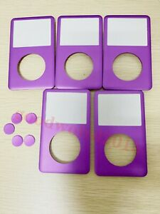 5x Front Cover housing faceplate+button for iPod Classic 6/7th gen 80/120/160GB