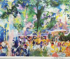 LeRoy Neiman TAVERN ON THE GREEN Hand SIGNED Lithograph