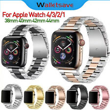 38MM-44MM For Apple Watch Wrist Band For iWatch 5 4 3 2 1 Stainless Steel Band