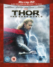 Thor The Dark World Blu-ray 3d 2013 Region