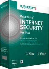 Kaspersky internet security 2018 2019 1  APPLE MAC  1  year worldwide (MAC)