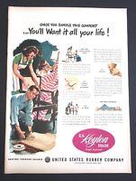 Life Magazine Ad KOYLON Foam United States Rubber Company 1947 Ad