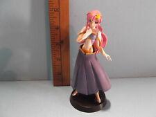 "#B756 Unknown Anime 5""in Gundam Pink Hair Girl Destiny Figure"