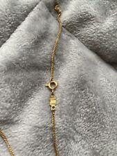 UNOAERRE 18ct fine gold necklace   Hallmarked 750