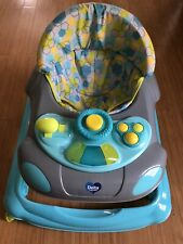 Little Folks 4-in-1 Discover & Play Musical Walker by Delta Children, Blue/Green