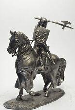 Soldado De Plomo Juguete, Grunwald, en el caballo, Coleccionable, rara, Regalo, na