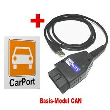 AutoDia K509 mit CarPort Software Basis-Modul CAN Diagnose UDS Interface OBD2