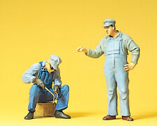 "Preiser 45075 Scale 1:22,5 Figurines "" US Track Worker "" # New in Boxed ##"