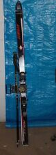 Atomic Akr 01 Mono Cap 165Cm Snow Skis With Bindings/Poles And Ski Tote