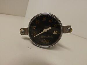 Vintage Cushman speedometer 17-516