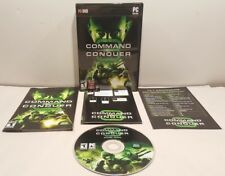 Command and Conquer 3 Tiberium Wars PC Game DVD ROM Complete Key Commands