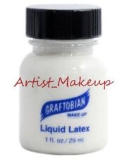 Graftobian Liquid Latex Costume Makeup Clear 1 oz
