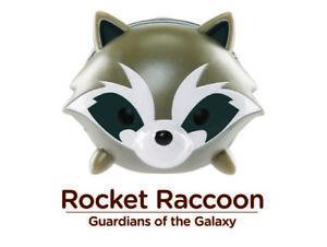Marvel Tsum Tsum Vinyl Figure Rocket Multiple Sizes Guardians Lucky!