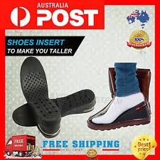 7CM HEIGHT INCREASE SHOES INSOLE ELEVATOR INSERT PAD SILICONE GEL TALL HEEL LIFT