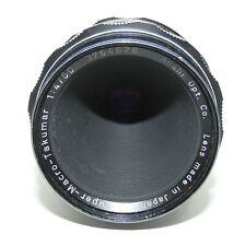 Vintage Asahi Opt Co Japan Super Macro Takumar 1:4/50 Lens in original case