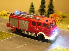 H0 Modellautos Wiking MB FW-Gerätewagen m. 5 blink. Blaulichtern, Beleuchtung