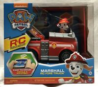 NEW Nickelodeon Paw Patrol Marshall Remote Controlled Fire Truck Toy