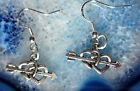 Orecchini pendenti cuore argento colorato SIMBOLO der Liebe gancio sterling 925