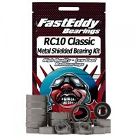 Fast Eddy Bearings RC10 Classic Metal Shielded Bearing Kit (TFE773)