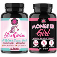 Her Desire Sexual Enhancement Boost + Monster Girl 2-PK